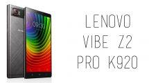 Lenovo - Vibe Z2 Pro K920