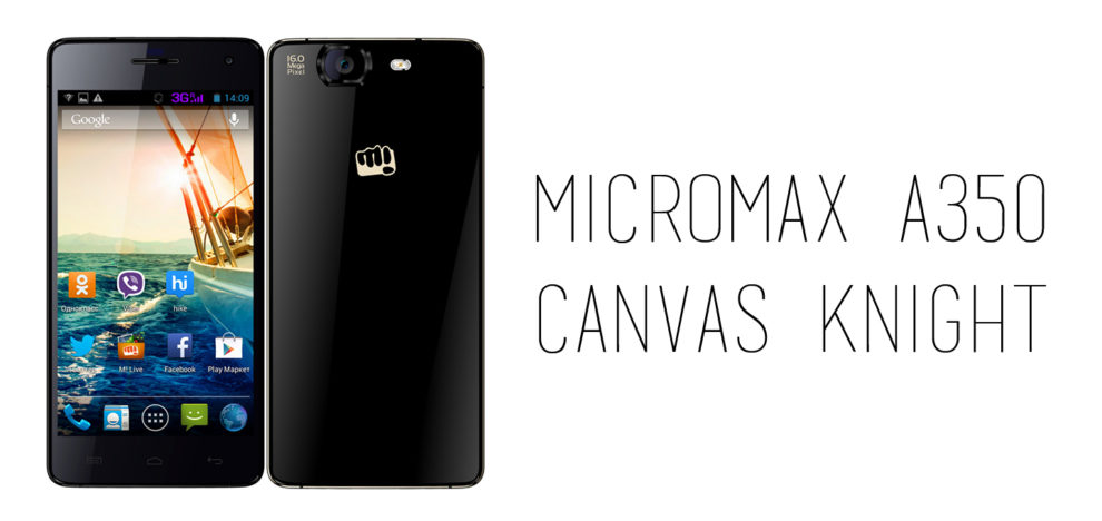 Micromax - A350 Canvas Knight