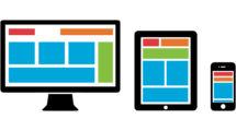 Mobile Desktop View - Website