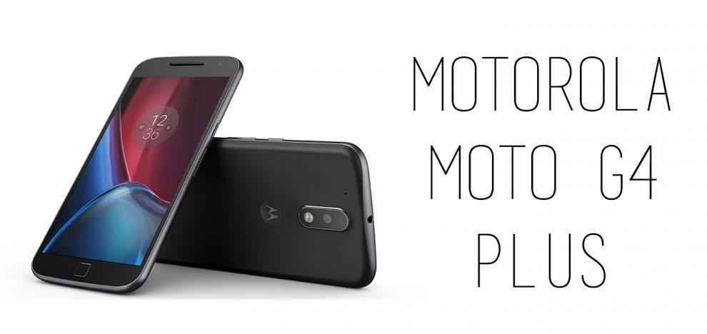 Motorola - Moto G4 Plus