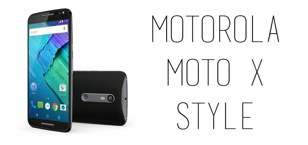 Motorola - Moto X Style