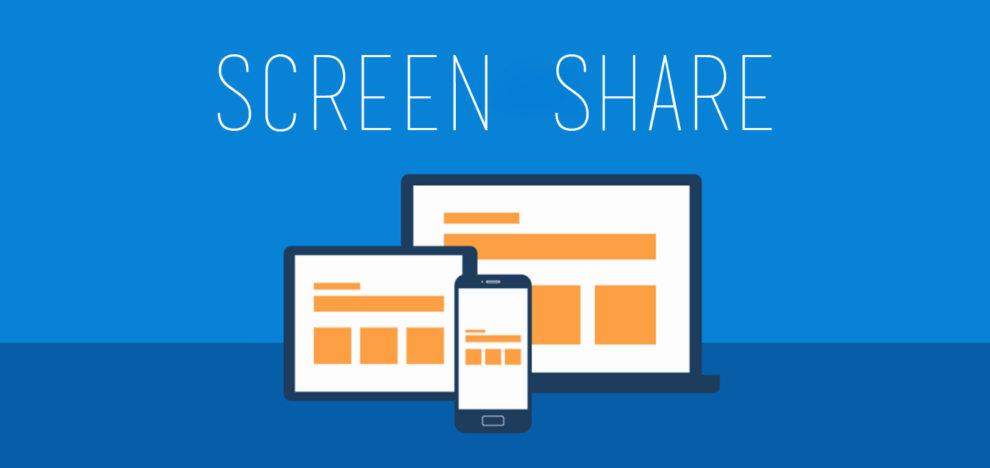 Screen Share - Condivisione Schermo