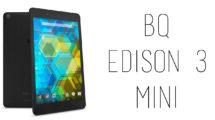 BQ - Edison 3 Mini