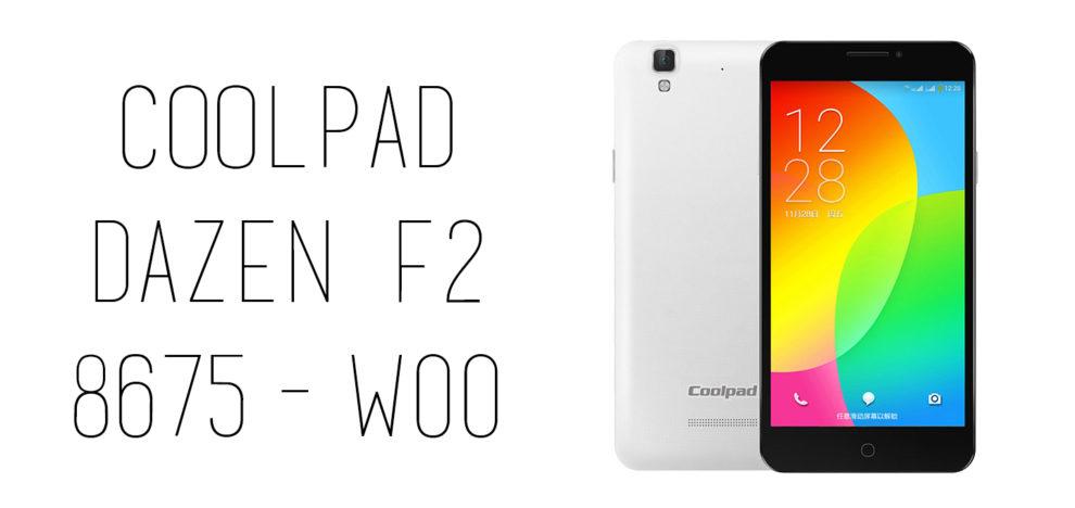 Coolpad - Dazen F2 8675-W00