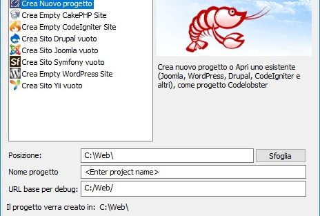 CodeLobster PHP Edition - screen 1