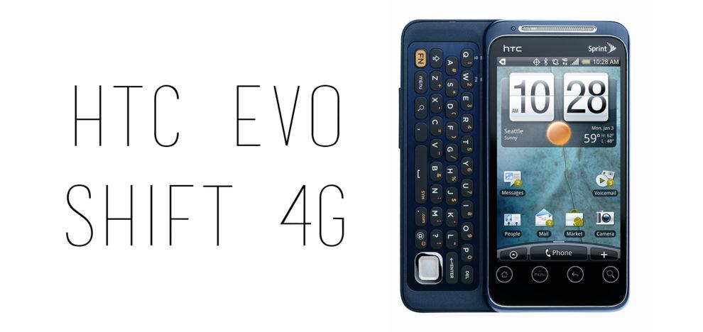 HTC - EVO Shift 4G