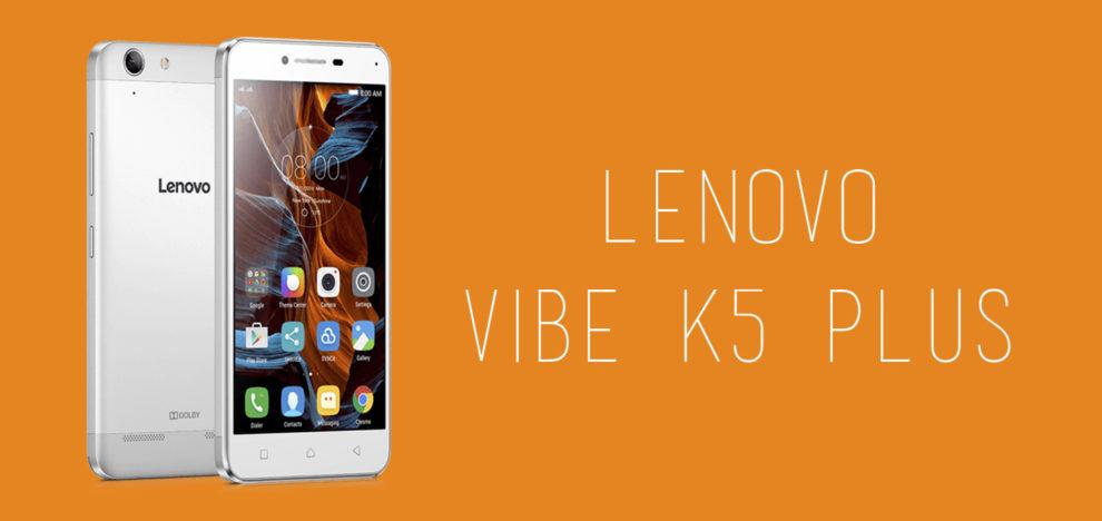 Lenovo - Vibe K5 Plus
