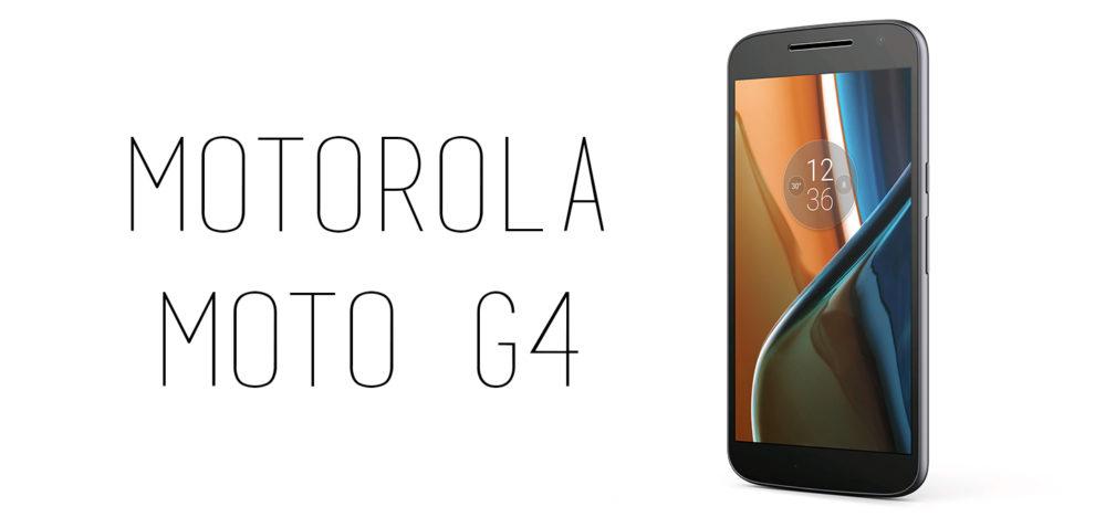 Motorola - Moto G4