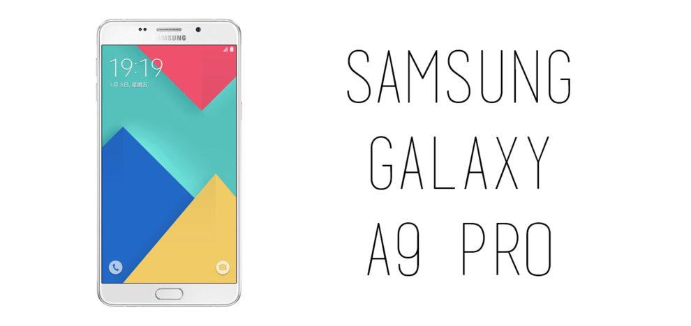 Samsung - Galaxy A9 Pro