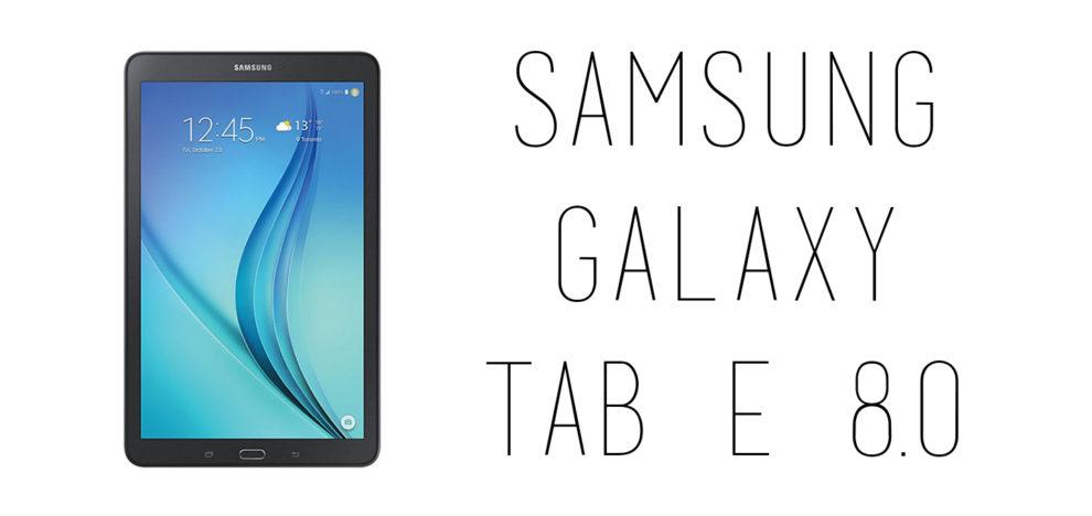 Samsung - Galaxy Tab E 8.0
