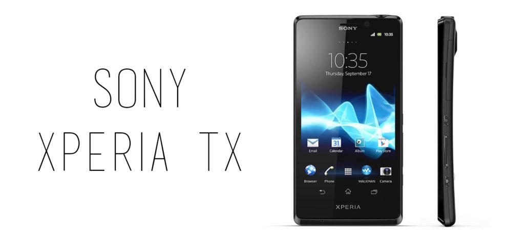 Sony - Xperia TX