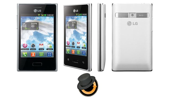 LG Optimus L3 ClocworkMod Recovery