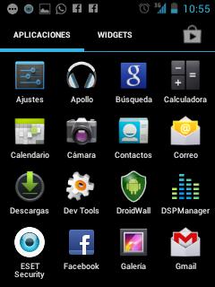 LG L3 ICS - App