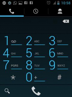 LG L3 ICS - Phone