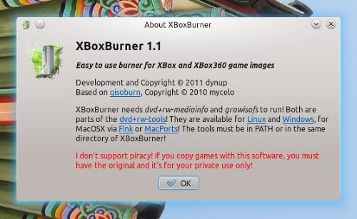 XBoxBurner