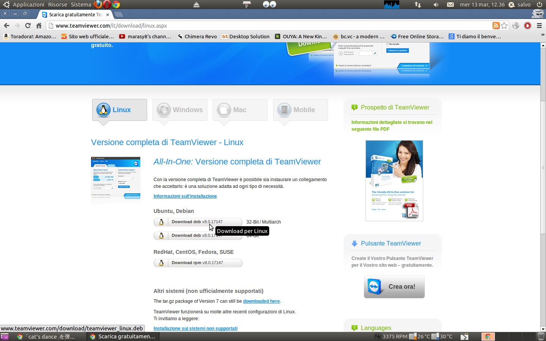 TeamViewer 8 per Linux: ci siamo