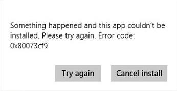 error - code - 0x80079cf9