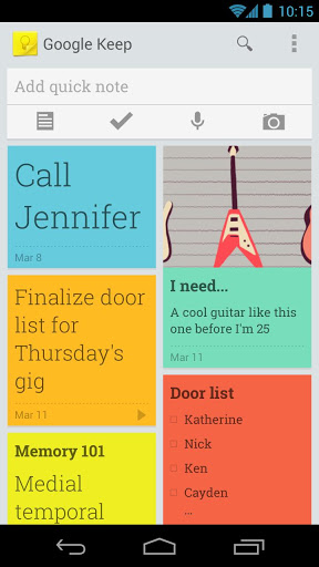 google - keep - smartphone - android - 1