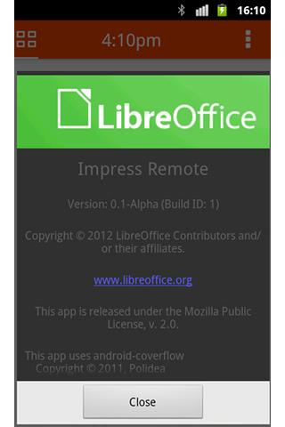 LibreOffice Impress Remote 2