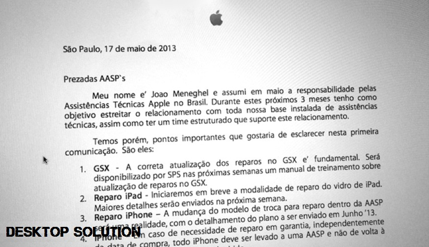 Apple Email Brazil