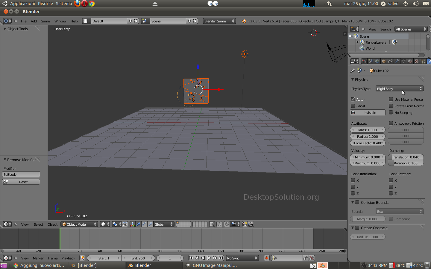 Blender - Rigid Body