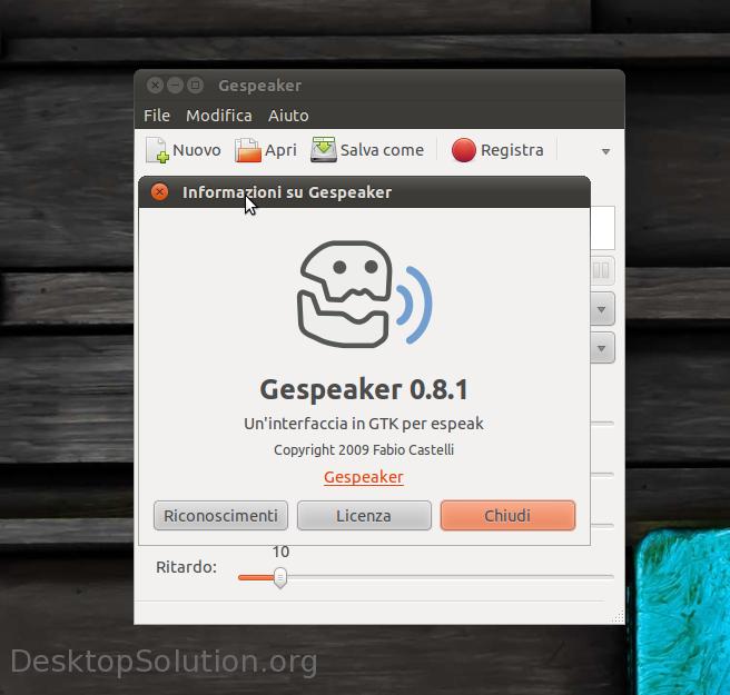 Gespeaker - Info