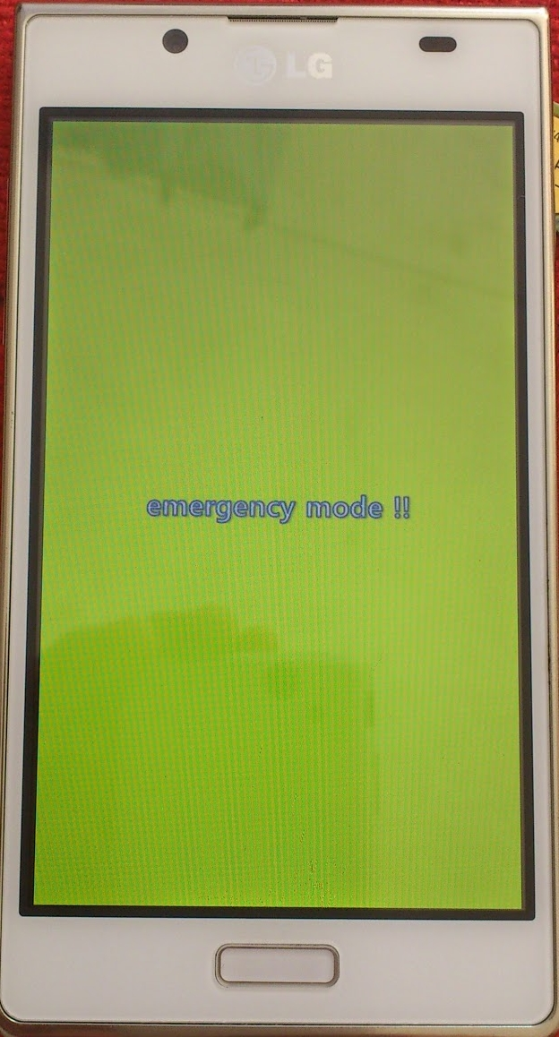 emergency mode lg l7 p700