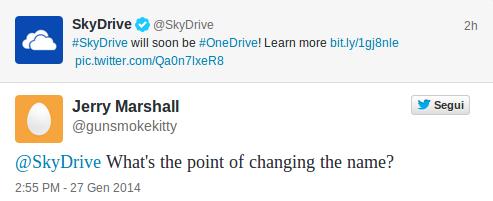Twitter - OneDrive