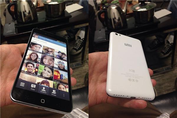 Umix X3 retro - front