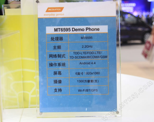 Mediatek - MT6595 - Demo Phone