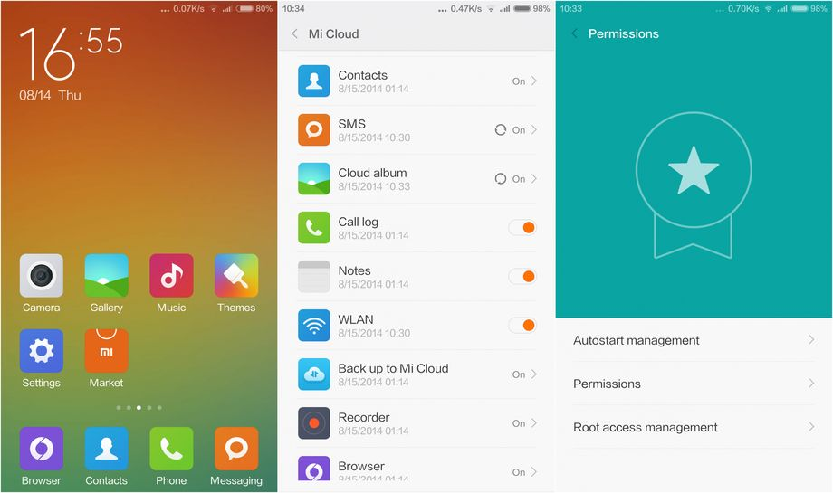 Xiaomi MIUI Mi6
