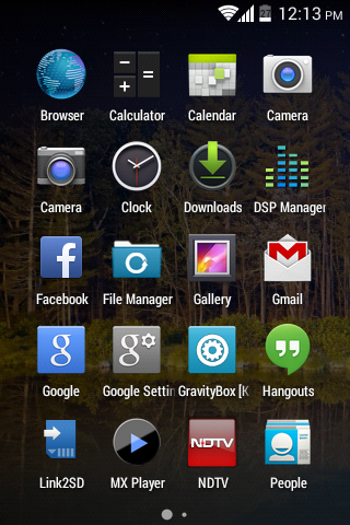 LG Optimus One P500 4.4.2 rom menù
