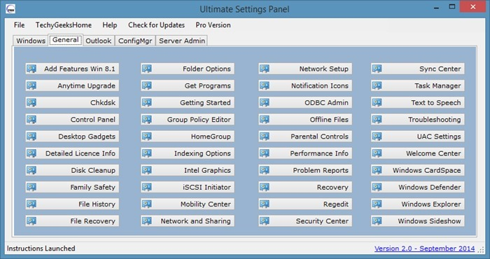 Ultimate Settings Panel - Windows - img3