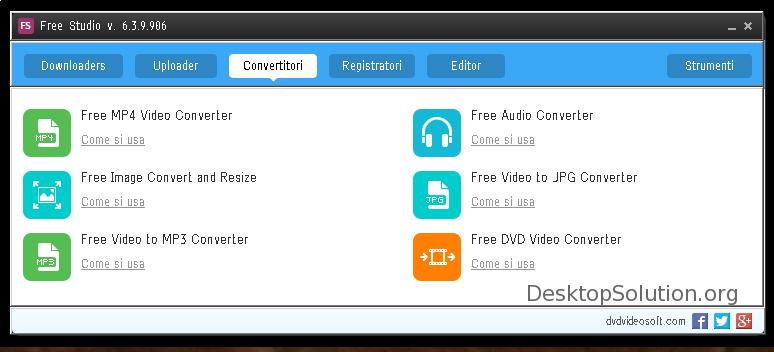 free studio converter