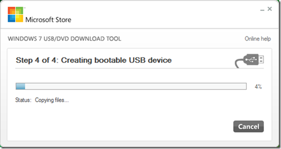 USB-DVD Download Tool - Windows 10 - 5