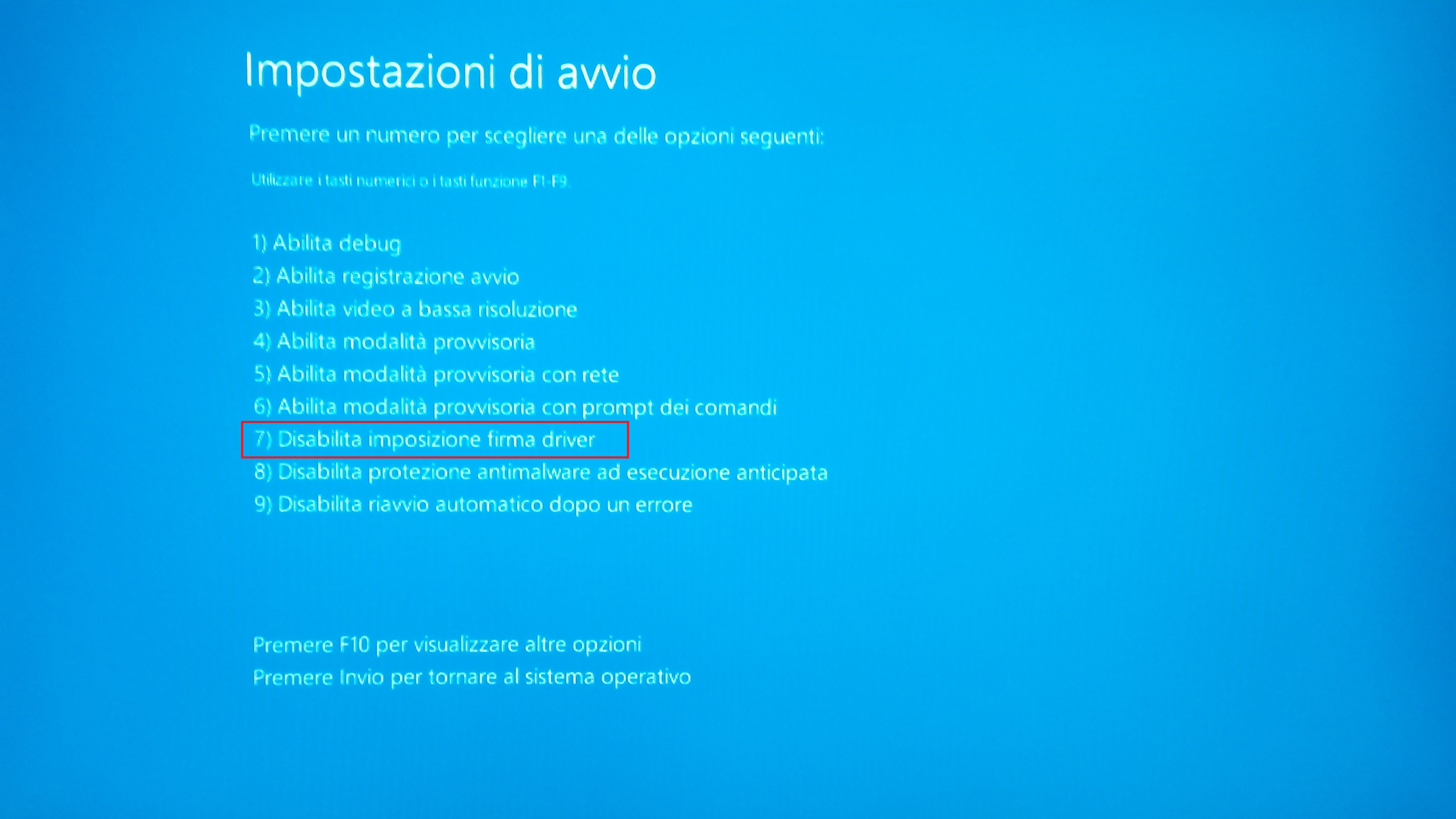 Windows 8.1 - Avvio driver - fonte desktopsolution.org