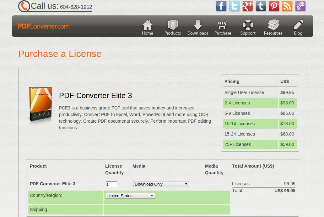 pdf converter elite 3 prezzi