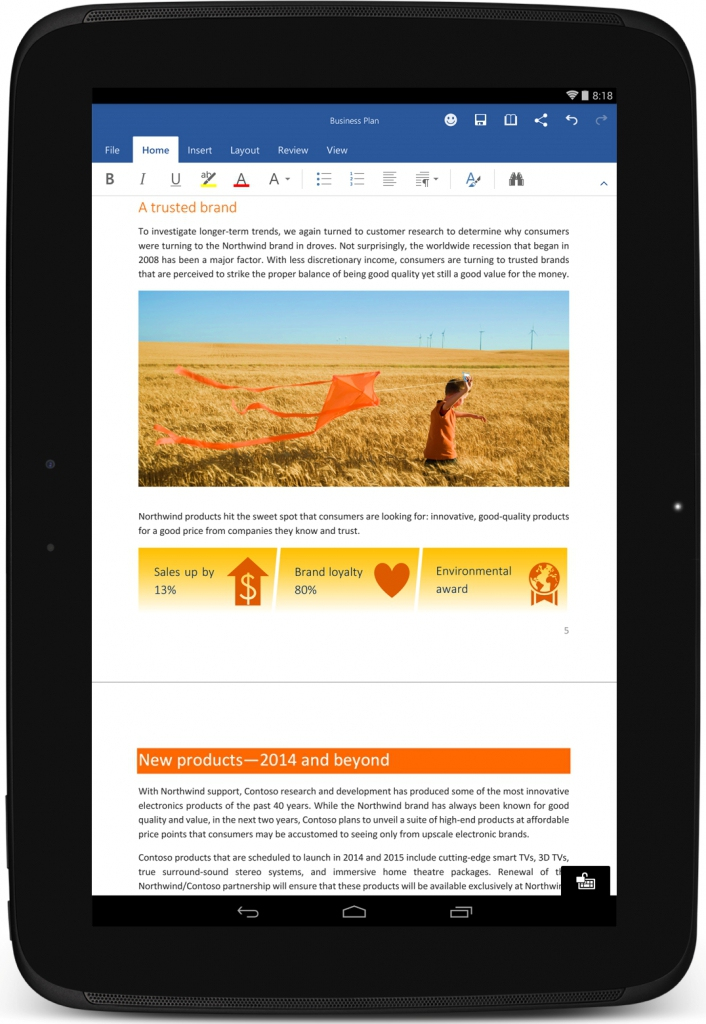 Microsoft Office - Android
