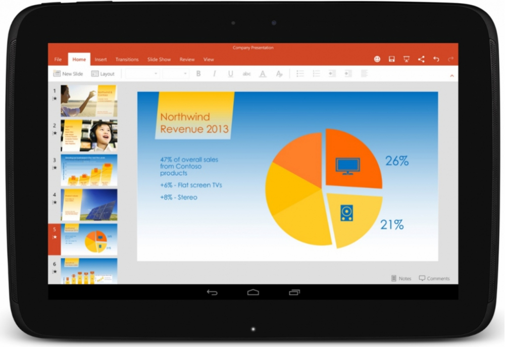 Microsoft Office - Tablet - Android