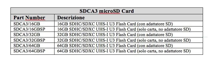SDCA3 - SDCard