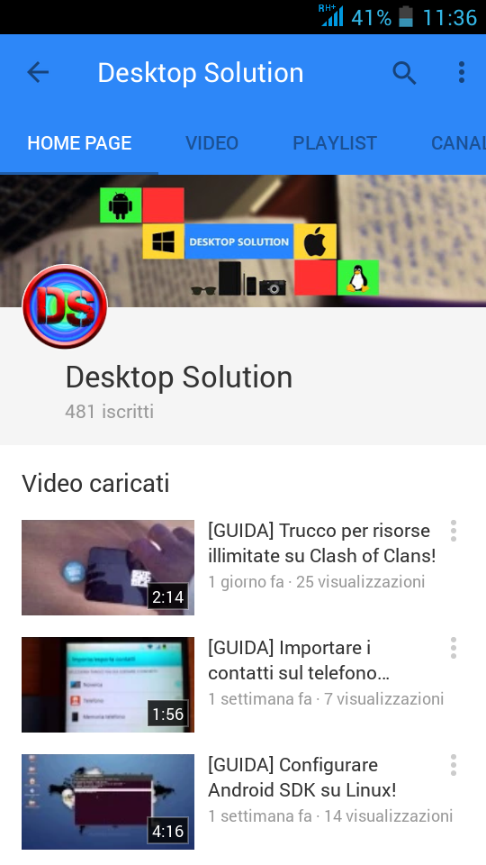 YouTube 10.02.3 - Desktop Solution Screnn