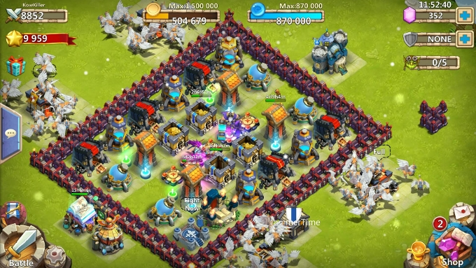 clash of clans mod apk server privato