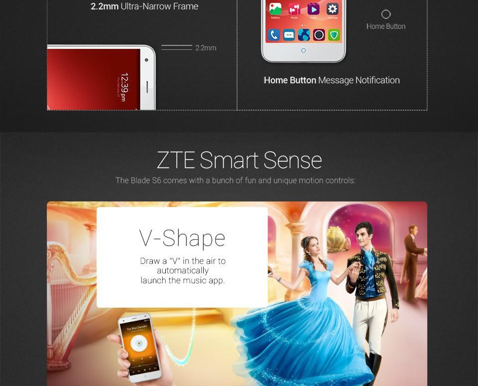 ZTE - Blade S6 - Photo 2