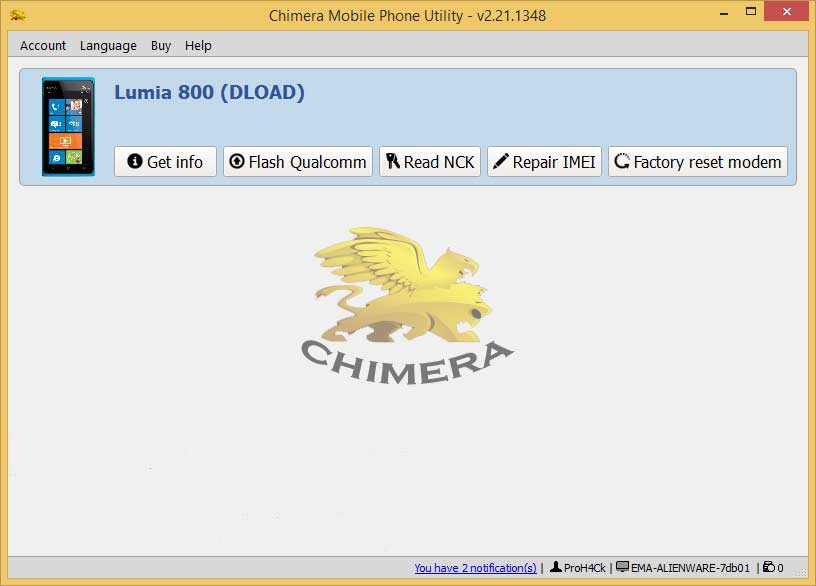 chimeratool lumia