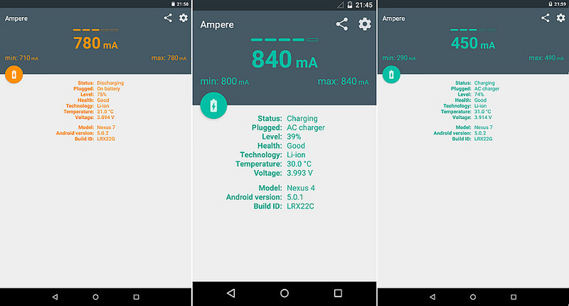 Ampere - Android