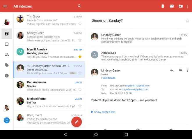 Gmail 5.1.89745174 - Android