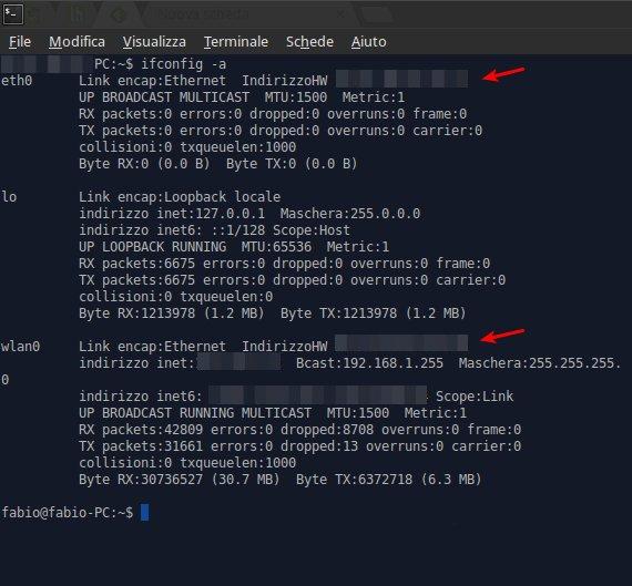 Mac Address - Linux