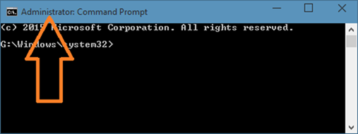 cmd - admin - windows 10