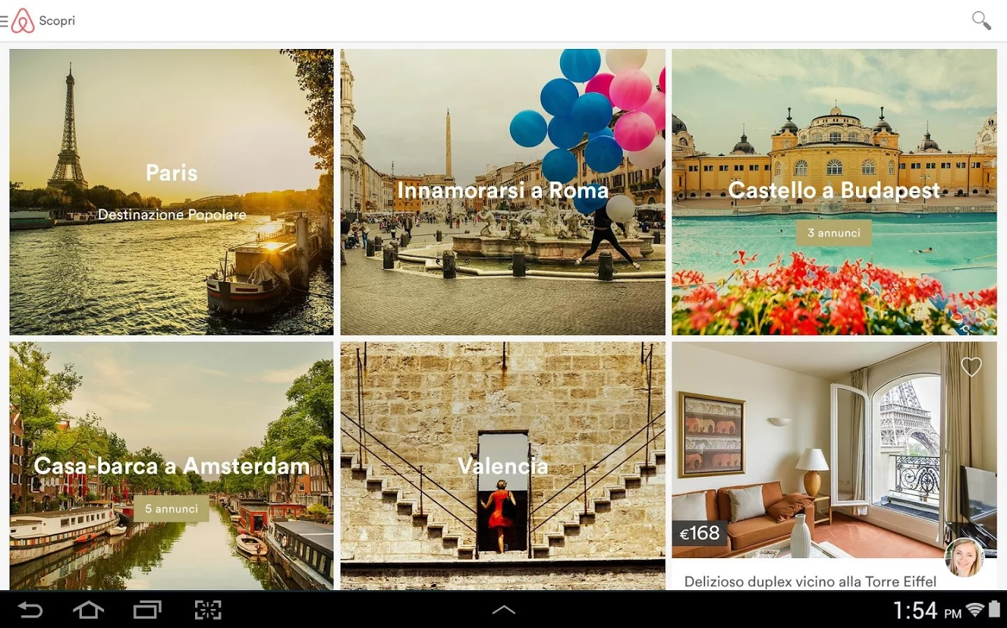 Airbnb - Android App