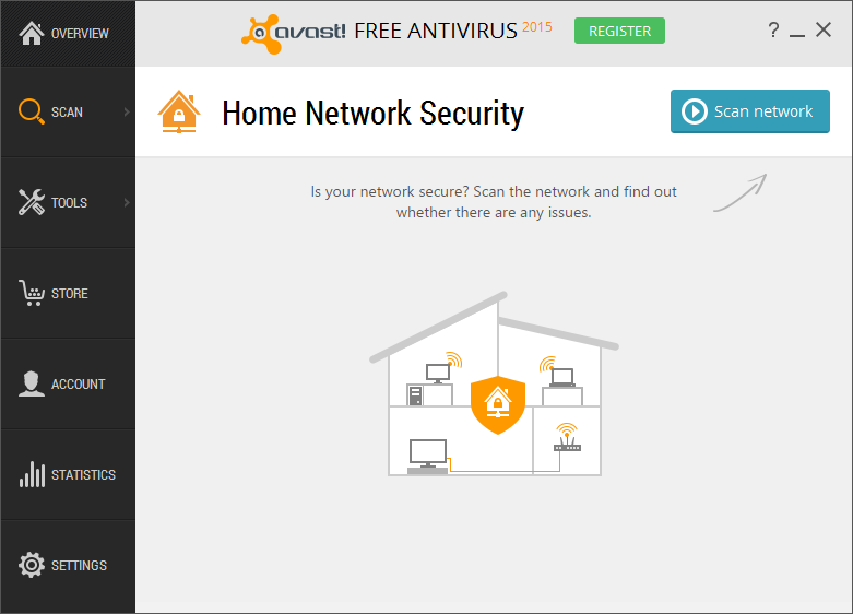 Avast - Free Antivirus - Windows 10